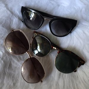 3 Pairs of Women's Sunglasses for Sale in Monroe, NC