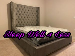 NEW💥QUEEN BED💥PILLOW TOP MATTRESS INCLUDED💥IN STOCK💥💥 for Sale in Los Angeles, CA