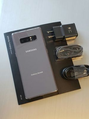 Samsung Galaxy Note 8 , Excellent Condition, FACTORY UNLOCKED. for Sale in Springfield, VA