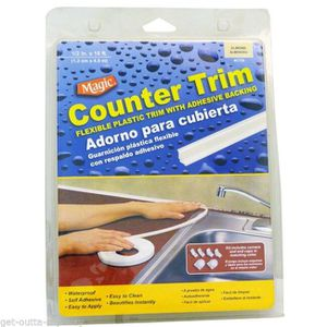 Magic American Plastic Waterproof Counter Trim Self-Adhesive Press-On Caulk Sealer for Sale in Chicago, IL