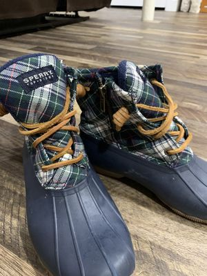 Sperry Snow and Rain Boots Size 8.5 for Sale in Chalfont, PA