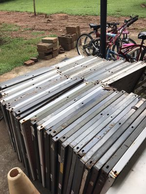 METAL SHELVES AND RAILS for Sale in Decatur, GA