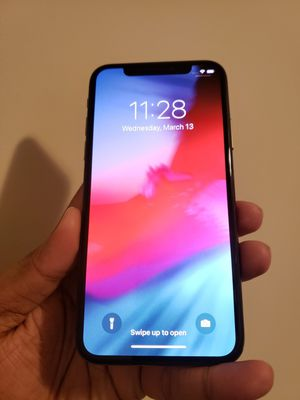 iPhone X , UNLOCKED for All Company Carrier , Excellent Condition like New for Sale in Springfield, VA