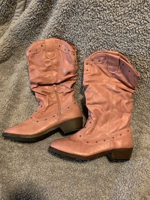 *NEW* - Girls Size 3 - Pink Cowgirl Boots for Sale in Burlington, NC