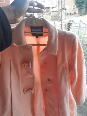 Girl's Pink Rothschild Dress Coat(Kids size 6) for Sale in Washington, DC