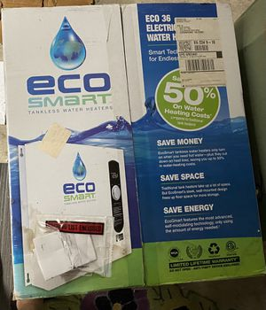 EcoSmart 36 electric tankless water heater. for Sale in Chesapeake, VA