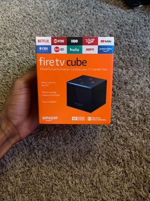 Alexa fire tv cube for Sale in Arlington, TX