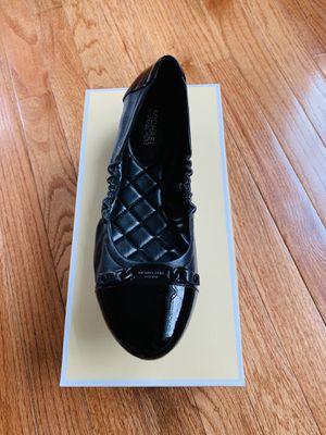 New Michael Kors Joyce Leather Ballet Flats 9M for Sale in Alexandria, VA
