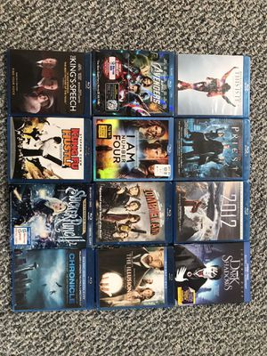 Blue Ray DVD Bundle for Sale in Buxton, ME