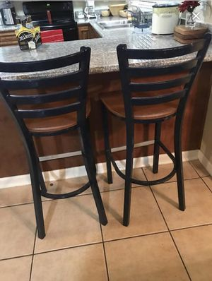 2 for 75$ Pro tough bar stools for Sale in Stockton, CA