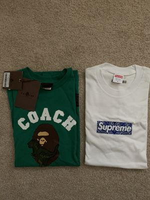 Supreme bape tees for Sale in Vallejo, CA