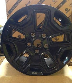 "Black Jeep Wrangler Willy's Wheeler Edition 17"" Rim Wheel for Sale in Madison, CT"