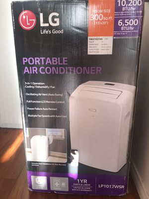 LG Portable Air Conditioner for Sale in Los Angeles, CA