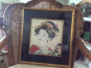 Geisha Girl pictures. ( set of 2 ) for Sale in Hutchinson, KS