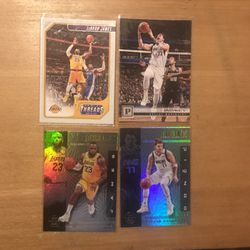 LEBRON /LUKA 4 CARD LOT for Sale in St. Louis,  MO