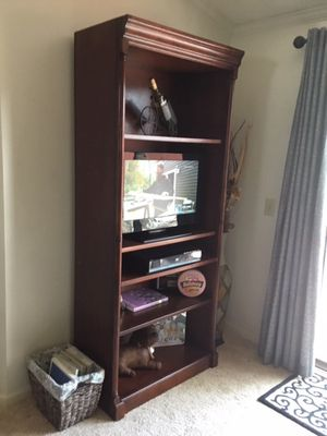 Hutch Cabinet Bookcase TV for Sale in Denver, CO