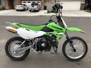 2007 Kawasaki klx 110 (pink in hand ) for Sale in Perris, CA