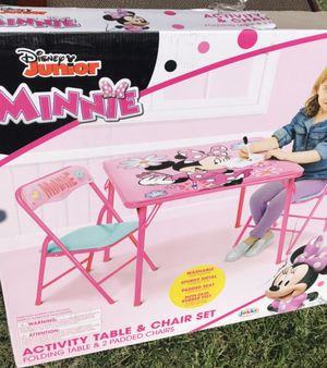 New Minnie Table and Chairs for kids for Sale in South El Monte, CA