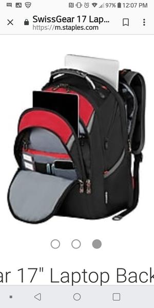 Swissgear laptop backpack for Sale in Baytown, TX