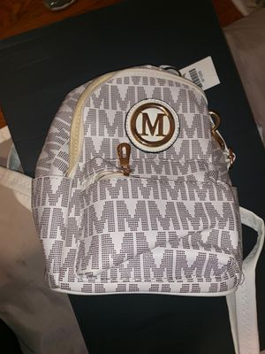 """""""M"""" Purse Backpack for Sale in Detroit, MI"""