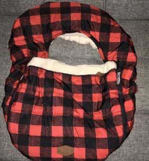 JJ Cole Plaid Car Seat Cover for Sale in Rogersville, MO