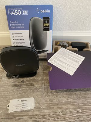 Belkin N450 wifi dual band Router for Sale in Cupertino, CA