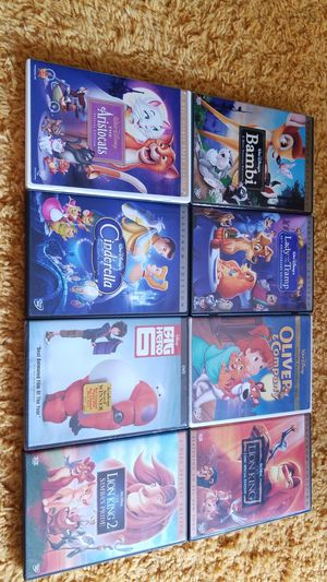 Disney Classics Movies!!! Some Rare! for Sale in Wahiawa, HI