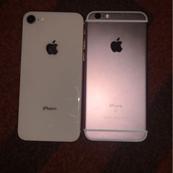IPHONE 8 and IPHONE 6S for Sale in Portland,  OR