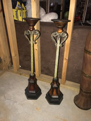 Floor or table tip candle holders for Sale in Conyers, GA