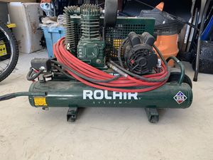 Air compressor rolair for Sale in Ferndale, WA