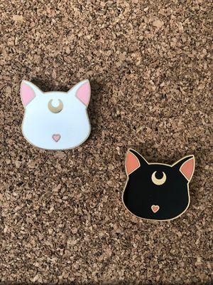 Sailor Moon Pins Luna and Artemis for Sale in Dallas, TX