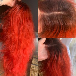 Natural wavy full lace human hair red wig for Sale in Phoenix, AZ