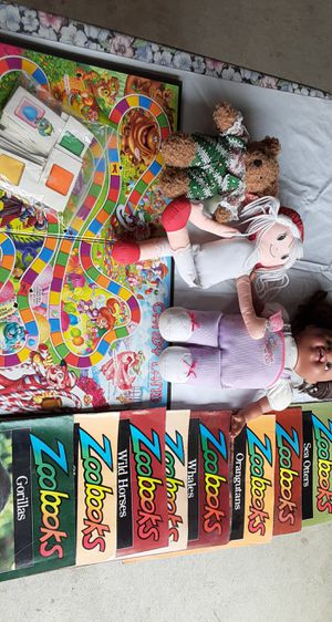 Dolls, Candyland, Zoo Magazines for Sale in Pasadena, CA