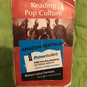 Reading Pop Culture Book for Sale in Anaheim, CA