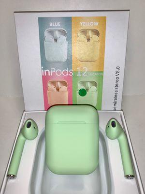 Green EarPods i12 Mini for Sale in Norco, CA