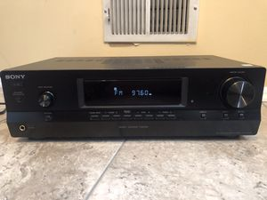 Sony Stereo Receiver (Radio) for Sale in South Plainfield, NJ