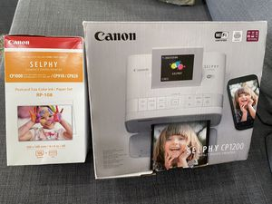 Canon Selphy CP1200 Photo printer for Sale in Queens, NY