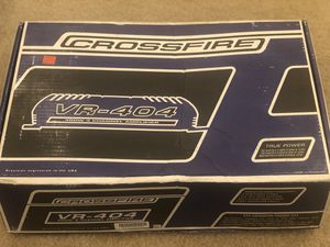 Crossfire 400W Amplifier for Sale in Hanover, MD
