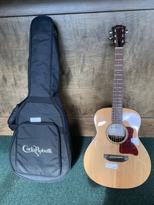 Carlo Robelli Travel Acoustic Guitar w/ Gig Bag (CRP505WOX) for Sale in CT, US