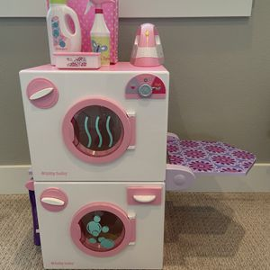 EXCELLENT CONDITION American Girl - Bitty Baby Washer & Dryer for Sale in Hillsboro, OR
