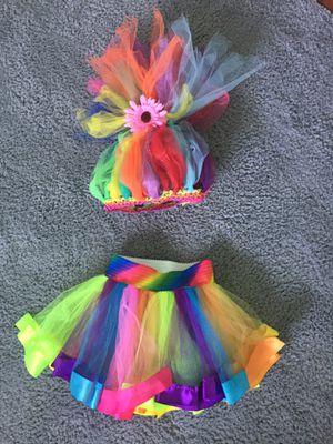 Trolls Costume Wig & Skirt for Sale in Rossmoor, CA