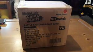 Case of Telebrands battle balloons color burst for Sale in Pottsville, PA
