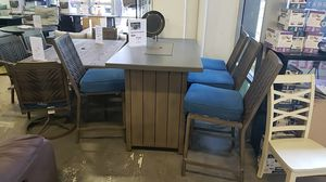 Brand New PATIO Furniture high dining table set tax included and free delivery for Sale in Hayward, CA