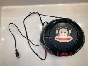 Stereo Boombox Paul Frank with DVD player for Sale in Orlando, FL