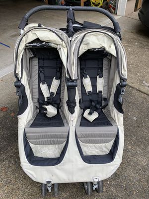Baby Jogger City Mini Double Stroller for Sale in Tualatin, OR