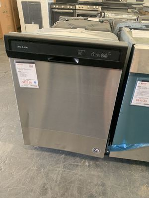 Amana Stainless Steel S&D Dishwasher for Sale in Tampa, FL