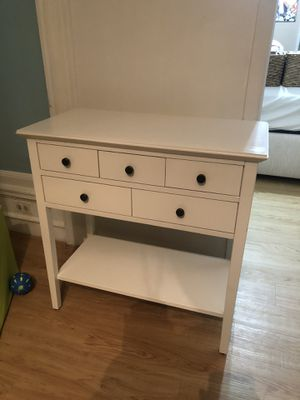 TABLE-White console table for Sale in The Bronx, NY