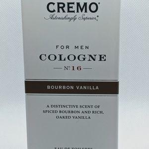 Cremo Men's Vanilla Bourbon 3.4oz Spray Colonge. New Sealed for Sale in Upper Black Eddy, PA