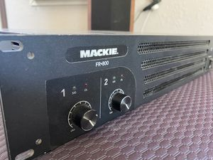 Mackie fr800 amplifier pro audio live for Sale in Santa Ana, CA