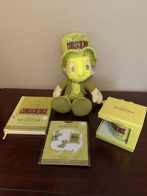 Disney Wisdom Collection Jiminy Cricket Plush Set for Sale in Pittsburgh, PA